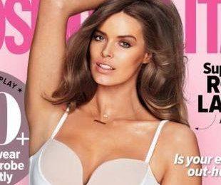 Робин Лоули на обложке Cosmopolitan Австралия
