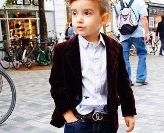 Брендовая одежда для модных деток