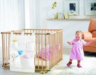 Кроватка ребенка в первые годы жизни