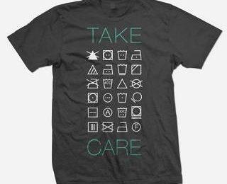 Как ухаживать за футболкой?