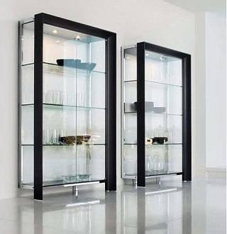 Использование стекол в интерьере