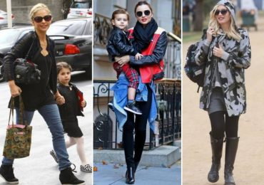 Модные мамы и их дети каждый день