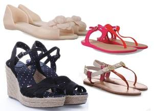 Обзор обуви на лето