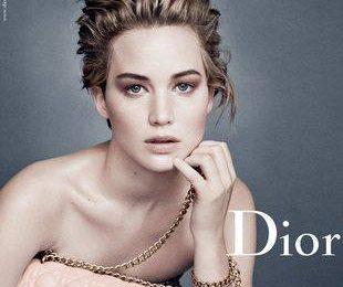Дженнифер Лоуренс неузнаваема в кампании Dior