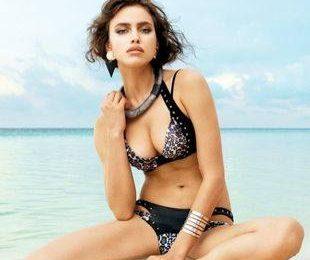 Ирина Шейк рекламирует купальники Beach Bunny