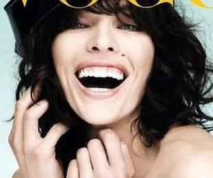 Голая Милла Йовович на обложке Vogue Турция
