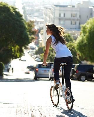 О пользе езды на велосипеде