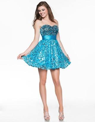 Вечерние платья - фасоны