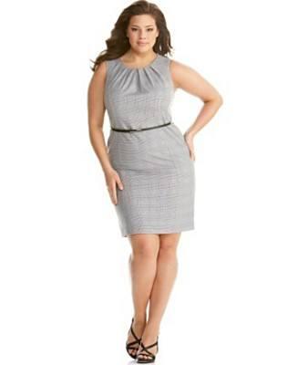 В моде женская одежда больших размеров