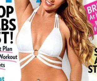 Бритни Спирс хвастается стройной фигурой в Shape