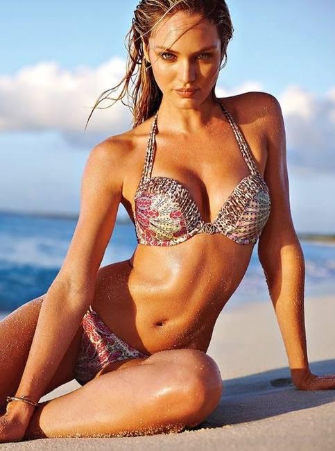 Кэндис Свейнпол звезда летней кампании Victoria`s Secret