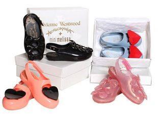Детская коллекция обуви Vivienne Westwood