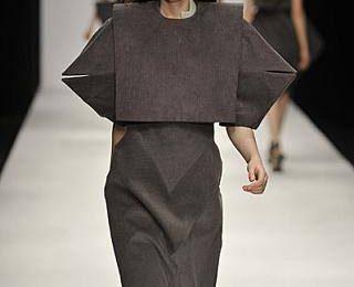 Геометрические конструкции одежды Чарльза Юсефа