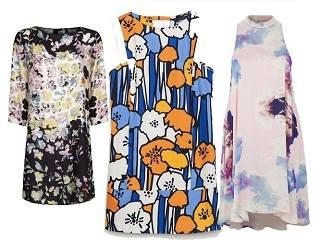 Платья с изображениями — весна
