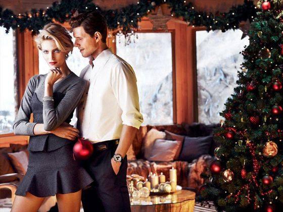 Анна Рубик с мужем рекламируют товары марки Apart