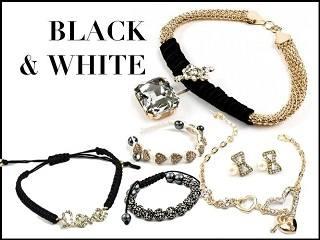 Черно-белая классика ювелирных украшений