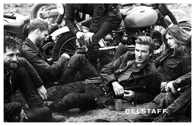 Сексуальный Дэвид Бекхэм в кампании Belstaff
