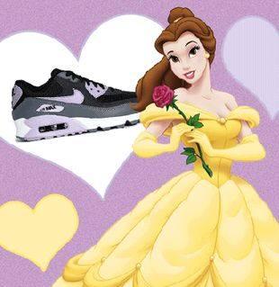 Принцессы Диснея рекламируют спортивную обувь