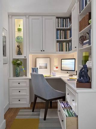 Обустройство и уборка домашнего офиса