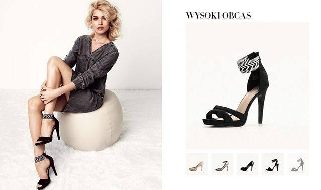 H&M Shoes - модная тенденция — высокий каблук