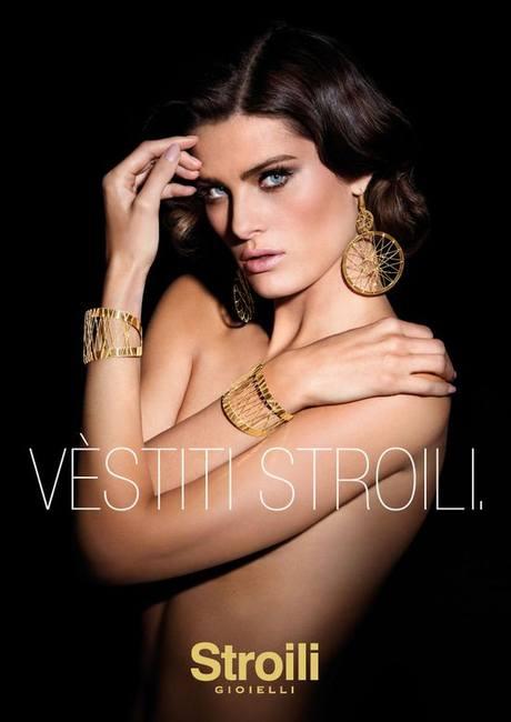 Изабели Фонтана в кампании Stroili Oro