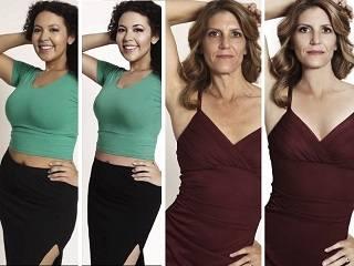 Зрелые женщины заменили моделей на обложках