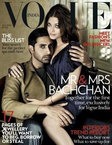 Айшвария Рай в Vogue Индия