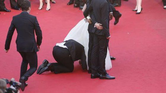 Скандал на Каннском кинофестивале!