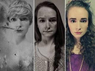 Женская красота десятилетия назад