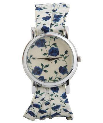 Цветочные часы от бренда Liberty