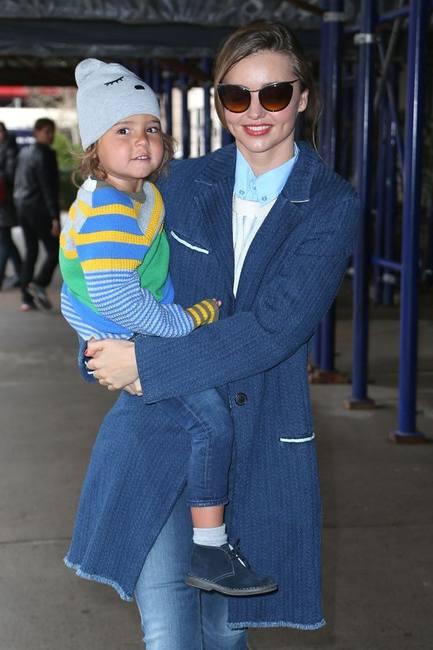 Миранда Керр - модная мама, модное дитя