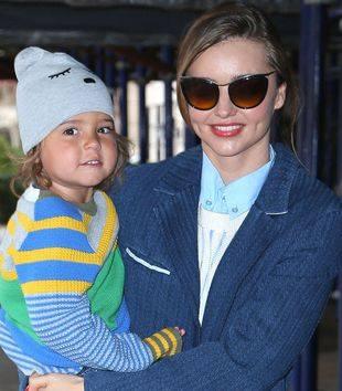Миранда Керр — модная мама, модное дитя