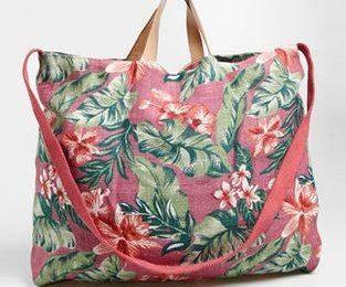 Готовимся к пляжу — пляжные сумки и аксессуары Oysho