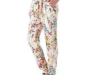 Хит года — цветные, сыпучие, узорчатые брюки