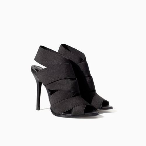 Обзор летней обуви - сандалии на высоком каблуке