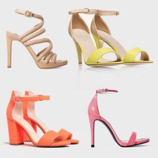 Обзор летней обуви — сандалии на высоком каблуке