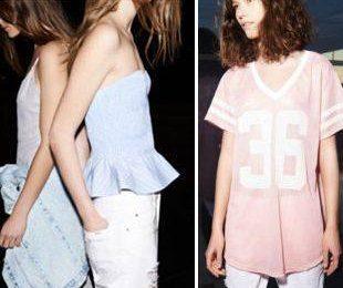 Молодежная коллекция Zara TRF на май