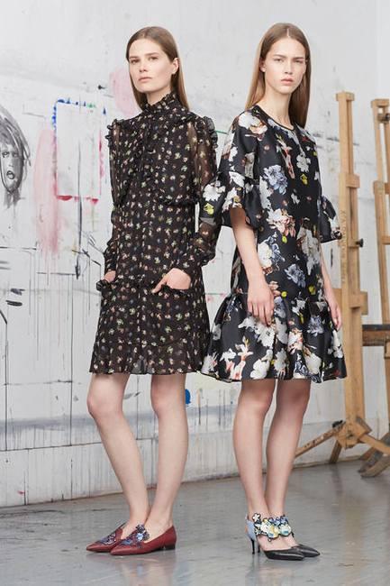 Новое видение весенней моды Erdem - коллекция Resort 2015