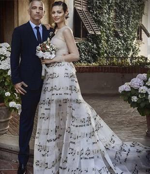 Знаменитый проект Valentino, как свадебное платье?