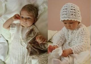 Модная детская одежда для крещения