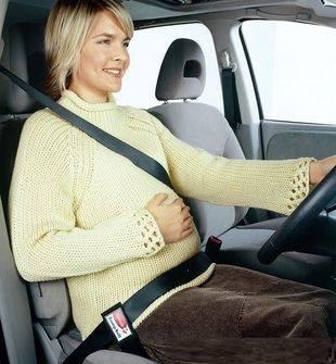 Урок вождения автомобиля для будущих мам