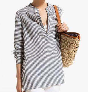 Мода на лето — морские полоски