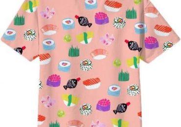 Суши, как элемент дизайна одежды