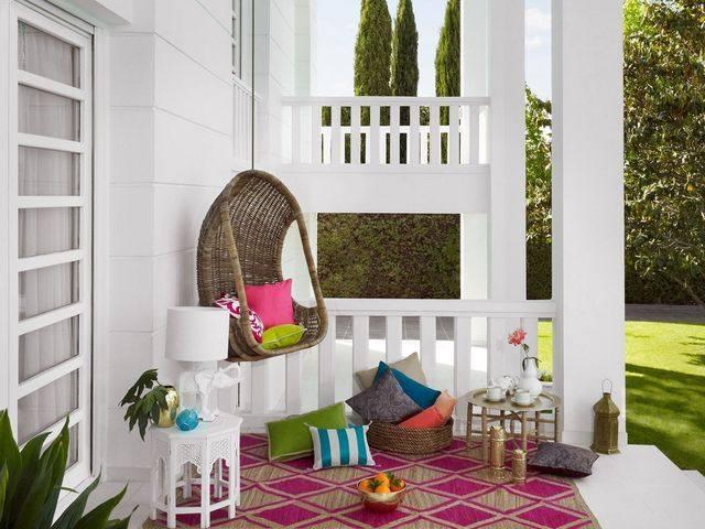 Zara Home - Экологичный дом в зеленых оттенках лета