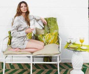 Zara Home — Экологичный дом в зеленых оттенках лета