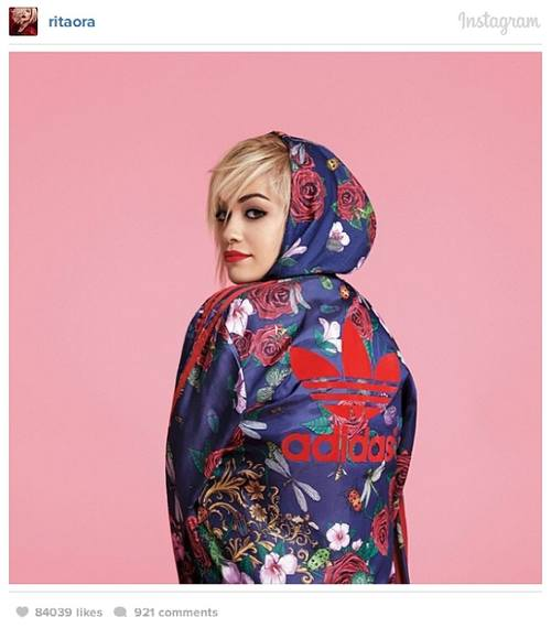 Бейонсе в проекте Риты Оры для Adidas Originals!