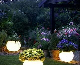 Уличные светильники для дачи или садового участка