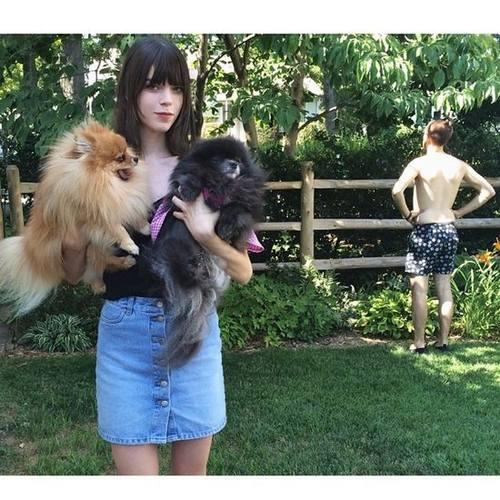 Фото топ моделей, опубликованные на Instagram