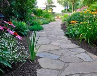 Ландшафтный дизайн в домашнем саду