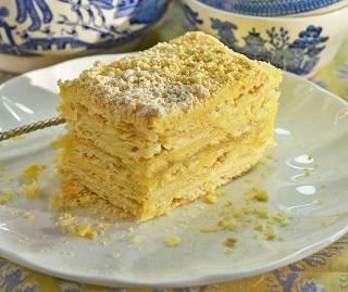 История торта «Наполеон»